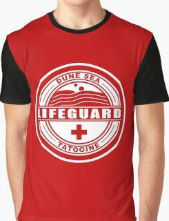 Dune Sea Lifeguard [White Normal] Graphic T-Shirt