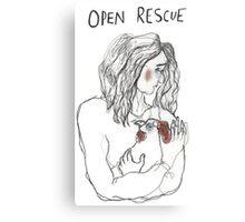 Open Rescue Canvas Print