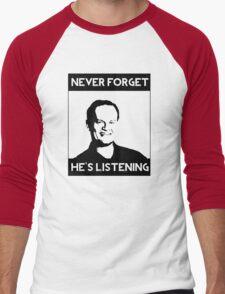 Frasier Crane - He's Listening Men's Baseball ¾ T-Shirt
