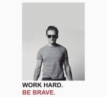 Work Hard. Be Brave. Baby Tee