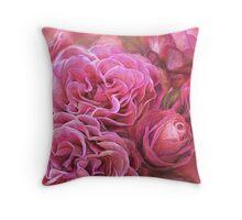 Rose Moods - Desire Art Pillow Throw Pillow