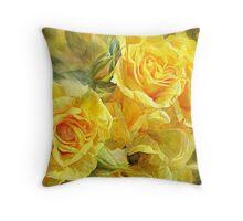 Rose Moods - Joy Art Print Throw Pillow