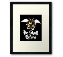 Our Savior Kuriboh Framed Print
