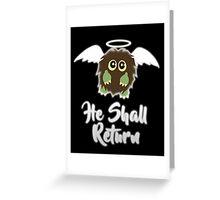 Our Savior Kuriboh Greeting Card