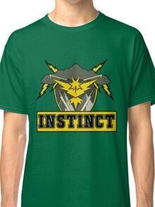 Pokemon Go Team Instinct Logo Classic T-Shirt
