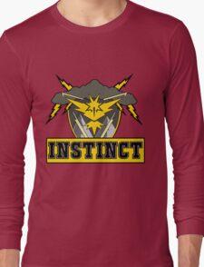 Pokemon Go Team Instinct Logo Long Sleeve T-Shirt