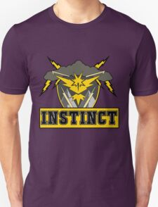 Pokemon Go Team Instinct Logo Unisex T-Shirt