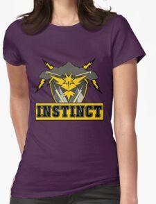 Pokemon Go Team Instinct Logo Womens Fitted T-Shirt