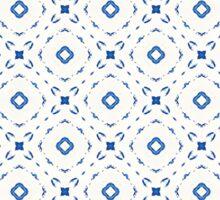 Acrylic Blue Square Dots Sticker