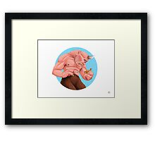 """The Cyclops Have No Language"" Framed Print"