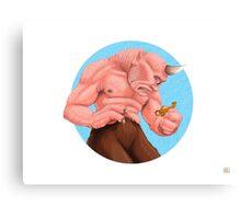 """The Cyclops Have No Language"" Canvas Print"