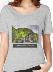 Summer trip to Bad Gastein, Austria Women's Relaxed Fit T-Shirt