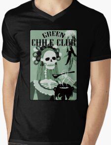 green chile club Mens V-Neck T-Shirt