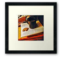 Midnight Provisions Framed Print