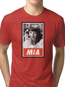 (MANGA) Mia Wallace Tri-blend T-Shirt