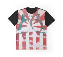 Rocking Horse Independence - Conflict Graphic T-Shirt