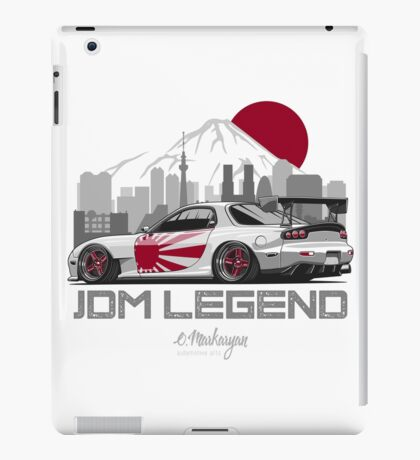Mazda RX7. JDM Legend iPad Case/Skin