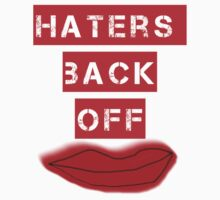 Haters Back Off One Piece - Short Sleeve