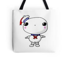 Kawaii Chibi Cute Stay Puft Marshmallow Man Ghostbusters Tote Bag