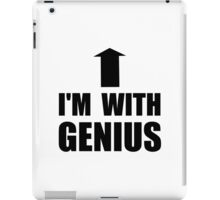 I'm With Genius iPad Case/Skin