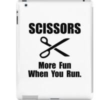 Scissors Fun Run iPad Case/Skin