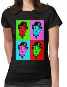 Charlie Chaplin Womens Fitted T-Shirt