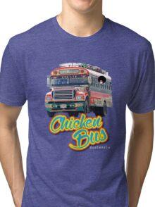 chicken bus Tri-blend T-Shirt