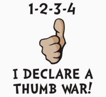 Declare A Thumb War Kids Tee