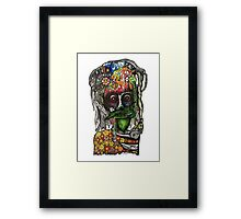 Grave Thoughts Framed Print
