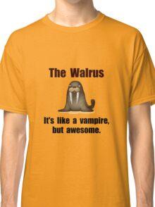 Walrus Vampire Classic T-Shirt