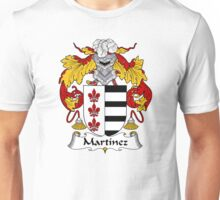 Martinez Coat of Arms/Family Crest Unisex T-Shirt
