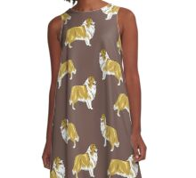 Rough collie A-Line Dress