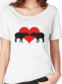 Tapirs Women's Relaxed Fit T-Shirt