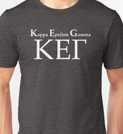KEG – Kappa Epsilon Gamma, How I Met Your Mother Unisex T-Shirt