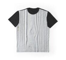 White Panel Graphic T-Shirt