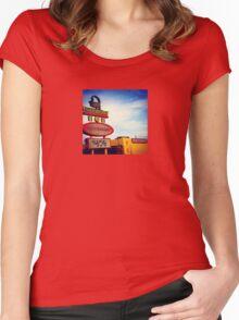 Buffet Women's Fitted Scoop T-Shirt