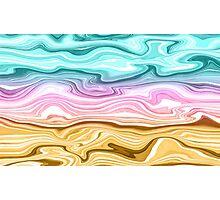 Rainbow Gradient  Photographic Print