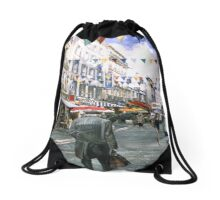 Rue de la Natividad Drawstring Bag
