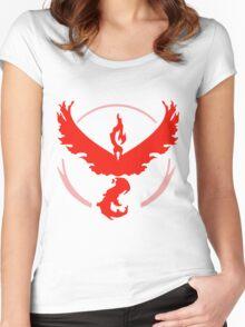 Pokemon GO - Team Valor Women's Fitted Scoop T-Shirt
