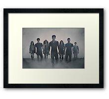 Teen Wolf Framed Print