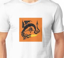 Beowulf fighting the dragon Unisex T-Shirt