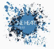 One Heart - Splatter Kids Clothes