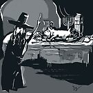 Old Horror Cartoon by Anthropolog