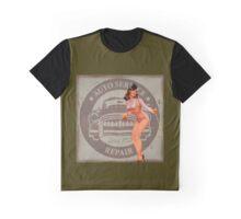 Retro Advert Pin Up Girl Graphic T-Shirt