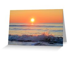 We Danced Like A Wave On The Ocean Greeting Card
