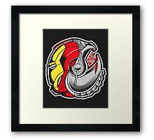 Ironman/Ultron Yin Yang Framed Print