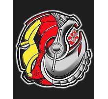 Ironman/Ultron Yin Yang Photographic Print