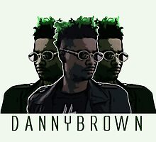 Danny Brown Illustration - BenmcArts by Ben McCarthy