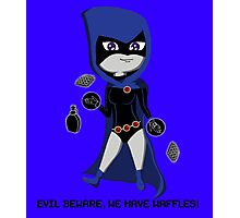 Raven & Waffles Photographic Print