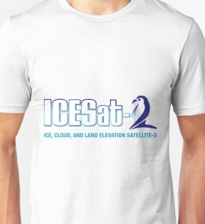 ICESat-2 Logo Optimized for Light Colors Unisex T-Shirt